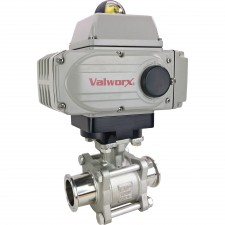 Electric Actuated Sanitary Ball Valve