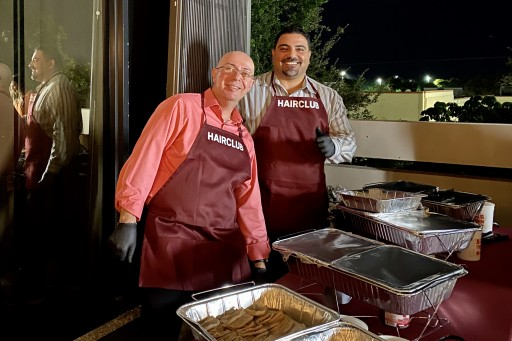 HairClub® CEO Serves Thanksgiving Feast to Employees
