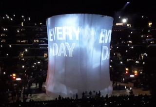 Projection Mapping for the Los Angeles Lakers Pre-game Show at Staples Center