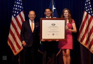 "President's ""E"" Award for Exports to Fortune Products, Inc."