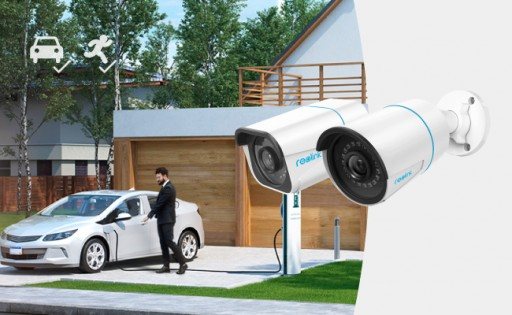 Reolink Embarks Upon Smart Person/Vehicle Detection With Futuristic Security Cameras and Systems in 5MP/4K Resolution