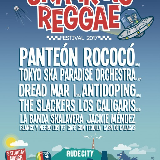 The Annual Festival Skanking Reggae Fest Announces This Year's Line Up Including Bands From Mexico, Japan, Argentina & USA