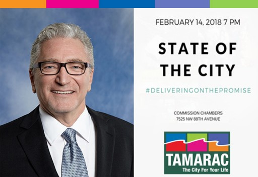 Tamarac Set to Deliver on Promises at the State of the City Address