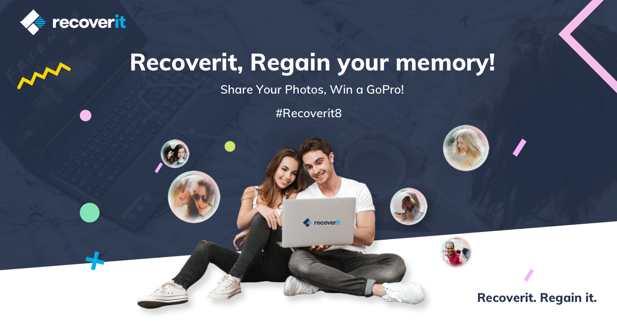 Recoverit's Latest Giveaway: Participate to Win a New GoPro and