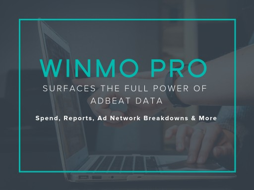 Winmo Pro Surfaces the Full Power of Adbeat Data: Spend, Reports, Publisher Intel and More - Press Release