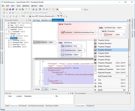 New JSON Editor Edition, SQLite, Schematron and XSLT 3.0 in Liquid Studio 2018