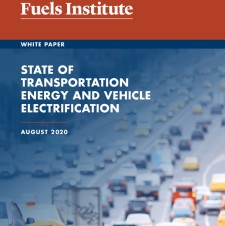 State of Transportation Energy and Vehicle Electrification