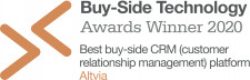 Buy-Side Technology Awards Winner 2020