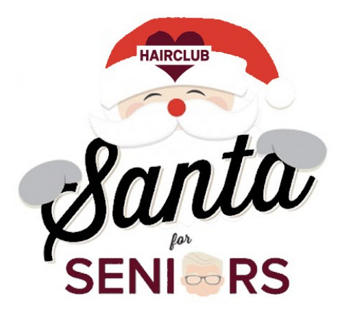 HAIRCLUB® CELEBRATES SEASON OF GIVING BY HELPING SENIORS IN NEED
