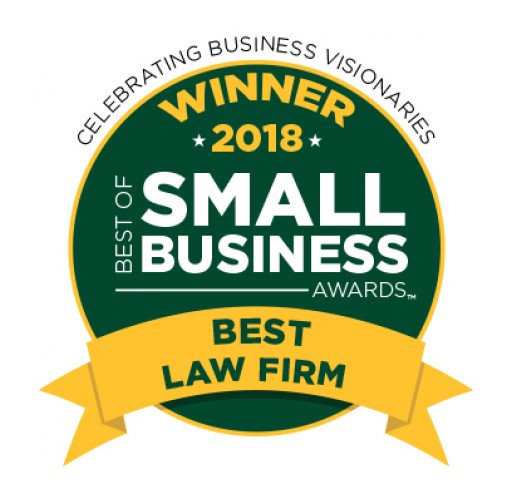 Tung Law Firm, PLLC Wins 2018 Best Law Firm From Best of Small Business Awards™