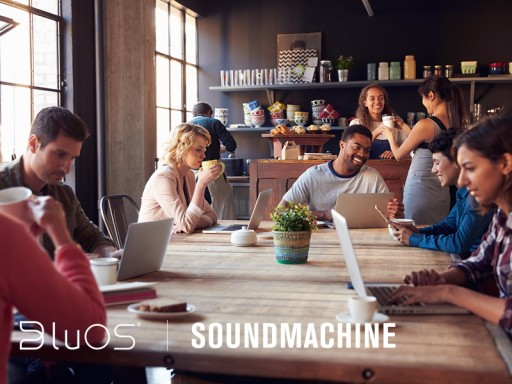 BluOS Partners With SoundMachine - a Music Streaming Service for Business
