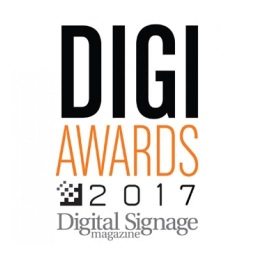 Mvix Wins 2017 DIGI Award for Best Digital Signage Software