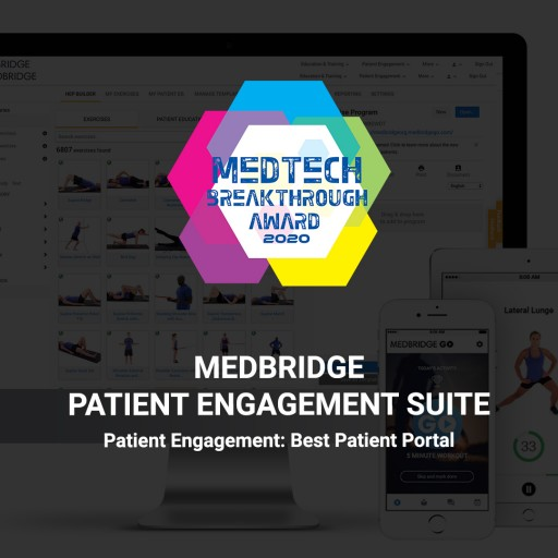 MedBridge Recognized for Digital Patient Care Innovation With 2020 MedTech Breakthrough Award