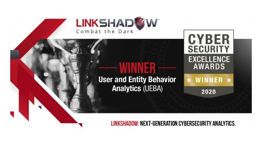 LinkShadow - Gold Winner at the Cybersecurity Excellence Awards 2020