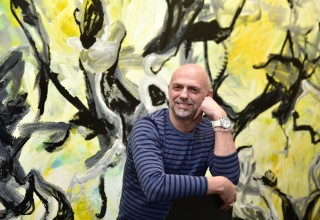Thierry B, Gallery Director, Abstract Expressionist Painter, Art dealer.