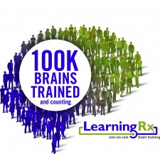 100k Brains trained LearningRx logo