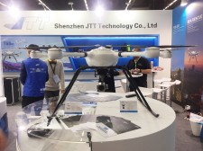 JTT UAV Exhibited in Milipol Paris 2017 With Anti-Terror UAV Solutions