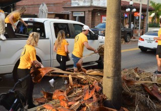 Scientology Volunteer Ministers after Hurricane Irma in Clearwater, Florida
