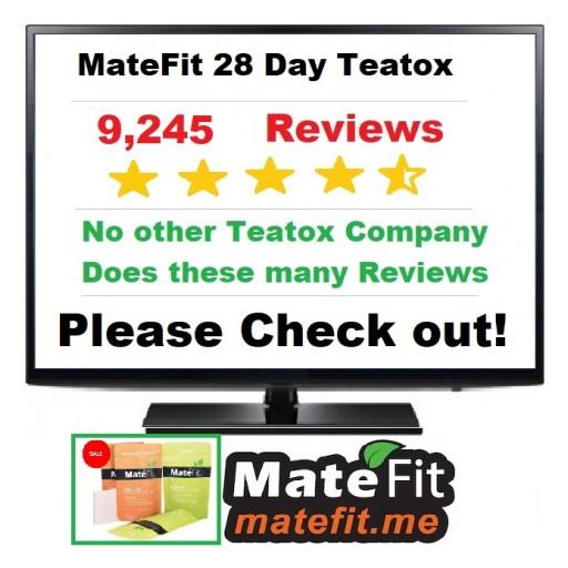 MateFIt Teatox - 28 Day Teatox - 28 Day Tea Detox with 9245 Customer Reviews