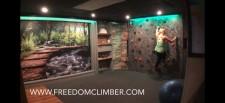 Home gym with Freedom Climber