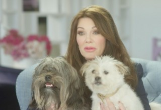 Lisa Vanderpump and her dogs