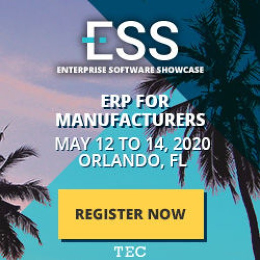 Kickstart Your ERP Software Selection at ESS (Enterprise Software Showcase), the Nation's Leading Event for ERP Selection May 12 in Orlando, FL