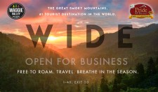 WIDE OPEN FOR BUSINESS IN NC SMOKY MOUNTAINS