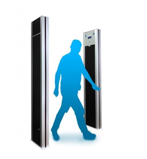 Walk Through Metal Detector Receives Patent for New Design
