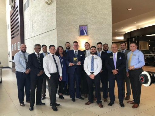 Lexus of West Kendall Wins Prestigious J.D. Power 'Dealer of Excellence' Award for 2018