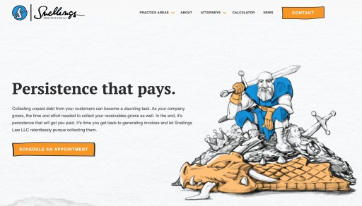Snellings Law LLC Launches New Site to Better Serve Commercial Collection Clients