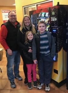 Heath Falzarano and Family
