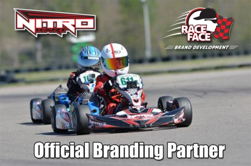 Nitro Kart Signs Race Face as Official Branding Partner
