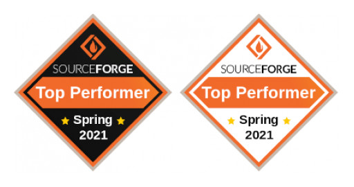 TSplus Wins a 2021 Top Performer Award in Remote Desktop Software Category From SourceForge