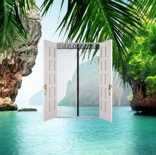 Mesh Door