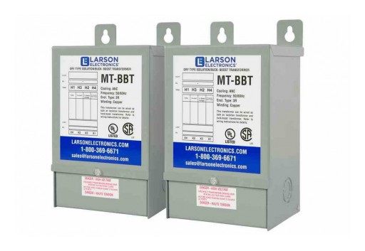 Larson Electronics Releases 3PH Delta Step-Up Buck and Boost Transformer, 4.69 Amps, 240D Primary & 270D Secondary