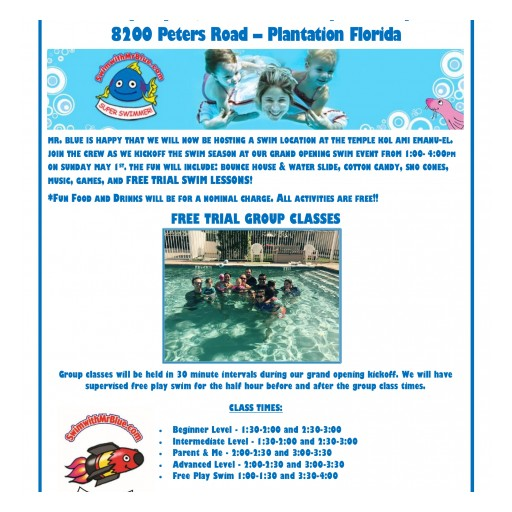 Mr. Blue's Plantation Pool Grand Opening