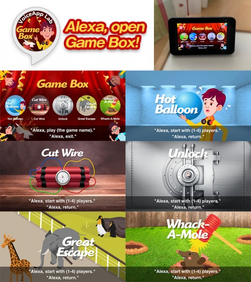 Voice App Lab Launches Game Box, a Fully Visualized Voice Game for Amazon Alexa