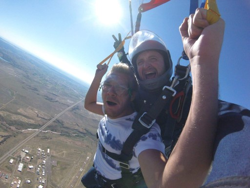 Skydive Wish Can Come True for Terminally Ill
