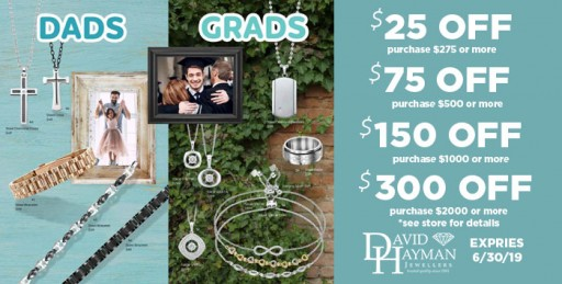 David Hayman Jewellers Offers $2,000 Shopping Spree as Grand Prize for Customer Appreciation Days