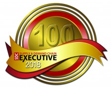 Supply & Demand Chain Executive (SDCE) 100 Award 2018