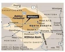North Dakota Bakken Formation Salt Water Disposal Systems
