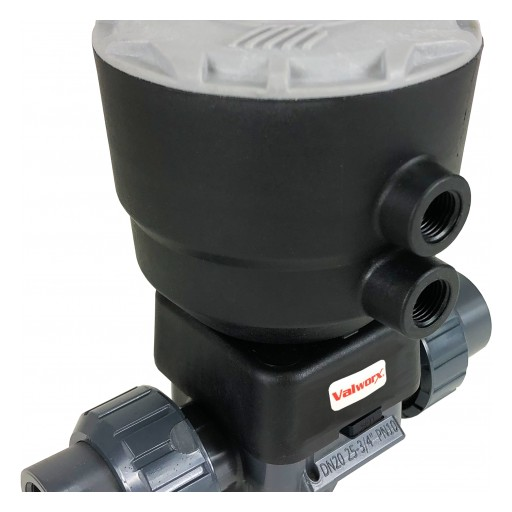 Valworx Announces New Product Line: Pneumatic PVC Diaphragm Valve