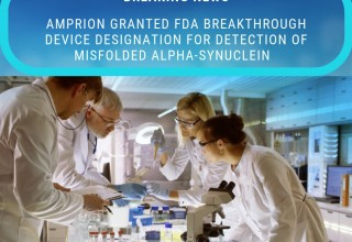 Amprion Receives FDA Breakthrough Device Designation for Detection of alpha-Synuclein