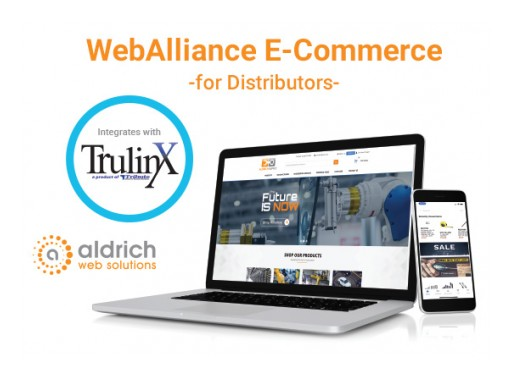 Tribute, Inc. Announces E-Commerce Partnership With Aldrich Web Solutions