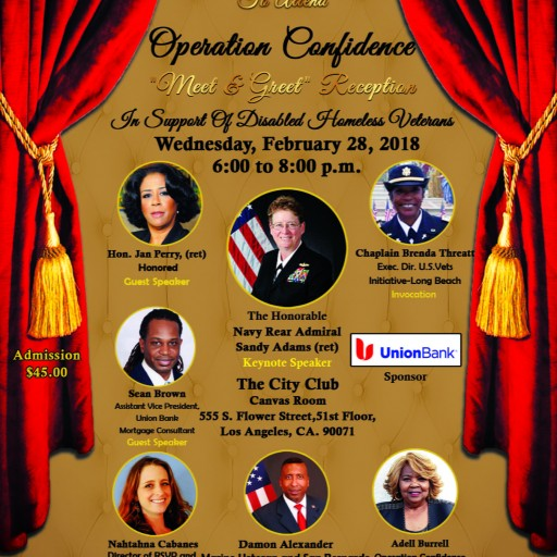 Operation Confidence Announces 'Meet & Greet' Sponsored by Union Bank
