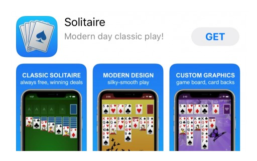 Solebon is GUILTY! - of Releasing New Silky-Smooth Solitaire Game for iOS