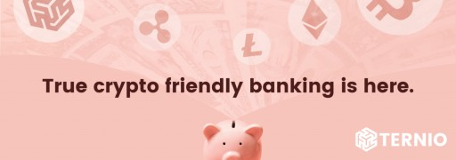Ternio Launches Crypto Friendly Banking With FDIC Insured Checking Accounts for BlockCard Customers