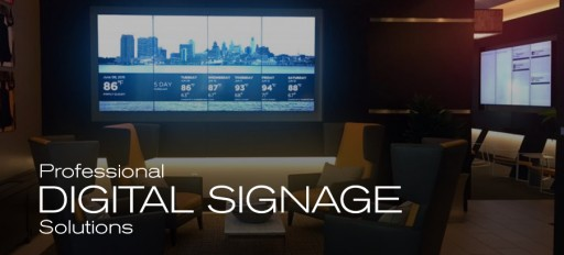 Professional AV Solutions at Digital Signage Expo 2016