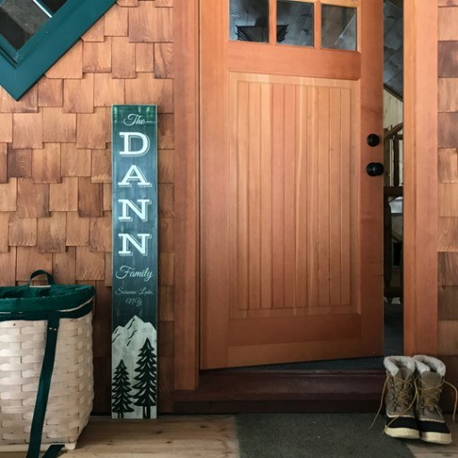 Adirondack Peach Launches Line of Rustic Signs for Those Who Call the Adirondacks Home