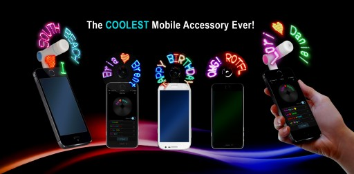 Company Prepares to Launch KICKSTARTER Campaign to Raise Funds for Self-Programmable LED Mobile Gadget
